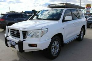 2008 Toyota Landcruiser VDJ200R GXL (4x4) White 6 Speed Automatic Wagon Lansvale Liverpool Area Preview
