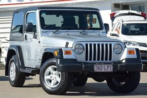 2005 Jeep Wrangler TJ MY2005 Renegade Silver 6 Speed Manual Softtop Woolloongabba Brisbane South West Preview