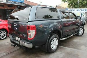 2012 Ford Ranger PX XLT 3.2 (4x4) Grey 6 Speed Automatic Dual Cab Utility Hamilton Newcastle Area Preview