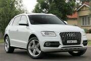 2013 Audi Q5 8R MY14 2.0 TFSI Quattro White 8 Speed Automatic Wagon Granville Parramatta Area Preview