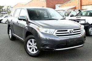 2012 Toyota Kluger Grey Sports Automatic Wagon Cranbourne Casey Area Preview