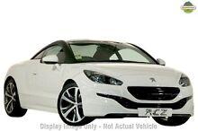 2014 Peugeot RCZ MY14 White 6 Speed Manual Coupe Mount Gravatt Brisbane South East Preview