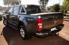 2012 Holden Colorado RG MY13 LTZ Crew Cab Grey 5 Speed Manual Utility Cannington Canning Area Preview