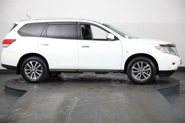2013 Nissan Pathfinder R52 St 4x2 White Continuous Variable Wagon