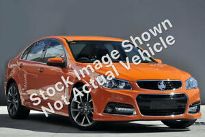 2013 Holden Commodore VF MY14 SS V Fantale Orange 6 Speed Sports Automatic Sedan