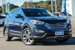 2013 Hyundai Santa Fe DM MY14 Highlander Blue 6 Speed Sports Automatic Wagon Myaree Melville Area Preview