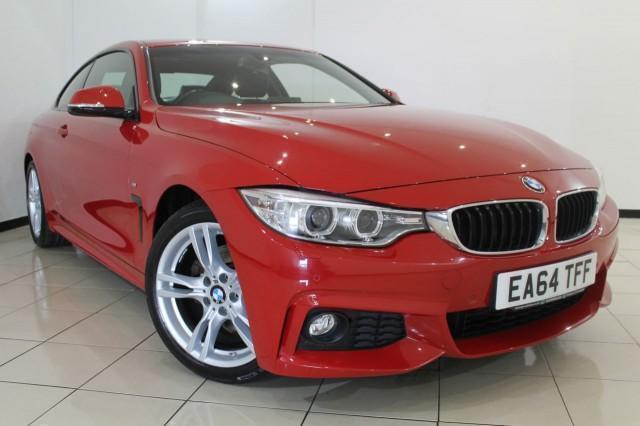 2014 64 BMW 4 SERIES 2.0 420D M SPORT 2DR 181 BHP DIESEL