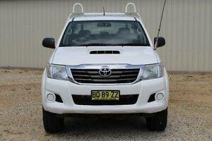 2012 Toyota Hilux KUN26R MY12 SR (4x4) Glacier White 4 Speed Automatic Dual Cab Pick-up Windradyne Bathurst City Preview