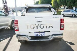 2013 Toyota Hilux KUN26R MY12 SR5 Double Cab Glacier White 4 Speed Automatic Utility Glendalough Stirling Area Preview