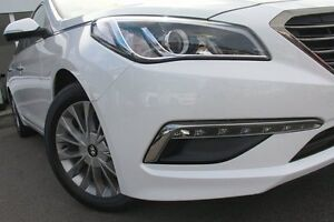 2015 Hyundai Sonata LF Elite White 6 Speed Automatic Sedan Wolli Creek Rockdale Area Preview