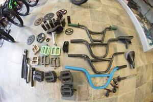 Lots of Top of the line BMX parts, Great condition, lightly used