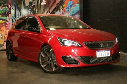 2016 Peugeot 308 T9 MY17 GTI 270 Red 6 Speed Manual Hatchback