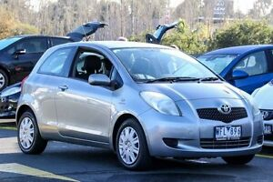 2007 Toyota Yaris NCP91R YRS Grey 4 Speed Automatic Hatchback Ringwood East Maroondah Area Preview