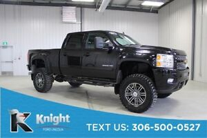 2013 Chevrolet Silverado 2500HD LTZ Lifted, Navigation, Moon Roo