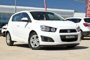 2013 Holden Barina TM MY13 CD White 5 Speed Manual Hatchback Baulkham Hills The Hills District Preview