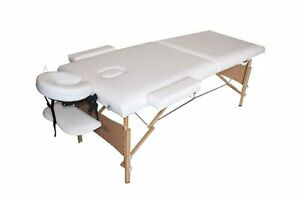 NEW White Portable Massage Table Eyelash Reiki Spa Reflexology