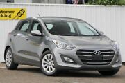2016 Hyundai i30 GD4 Series II MY17 Active Silver 6 Speed Sports Automatic Hatchback Chermside Brisbane North East Preview
