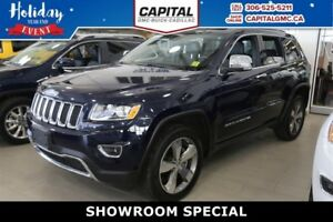 2016 Jeep Grand Cherokee Limited 4WD*Leather-Sunroof-Navigation*