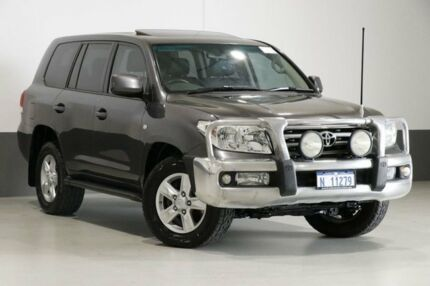 2010 Toyota Landcruiser UZJ200R 09 Upgrade VX (4x4) Grey 5 Speed Automatic Wagon Bentley Canning Area Preview