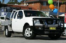 2009 Nissan Navara D40 RX (4x4) White 5 Speed Automatic Kingcab Waitara Hornsby Area Preview