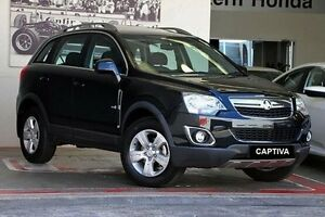 2011 Holden Captiva CG Series II 5 Black 6 Speed Sports Automatic Wagon Doncaster Manningham Area Preview