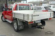 2013 Mitsubishi Triton MN MY13 GLX Double Cab Red 5 Speed Manual Utility Frankston Frankston Area Preview