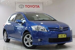 2011 Toyota Corolla ZRE152R MY11 Levin SX Tidal Blue 4 Speed Automatic Hatchback Waterloo Inner Sydney Preview