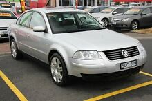2003 Volkswagen Passat GP MY2003 S V6 Silver 5 Speed Sports Automatic Sedan Moorabbin Kingston Area Preview