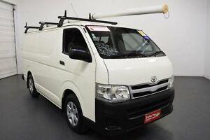 2011 Toyota Hiace KDH201R MY11 Upgrade LWB White 5 Speed Manual Van Moorabbin Kingston Area Preview