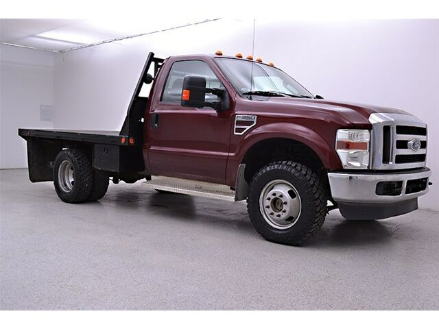 2009 ford f350 superduty drw 4x4 flat bed farm truck 6 4 diesel with 86k miles