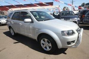 2010 Ford Territory SY Mkii TS Silver 4 Speed Sports Automatic Wagon Kingsville Maribyrnong Area Preview