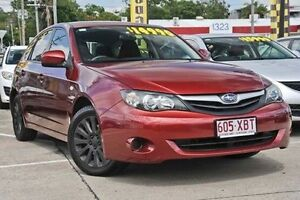 2011 Subaru Impreza G3 MY11 R AWD Special Edition Red 4 Speed Sports Automatic Hatchback Mount Gravatt Brisbane South East Preview