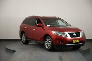 2013 Nissan Pathfinder R52 ST (4x2) Red Continuous Variable Wagon