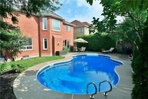 FULLY FURNISHEDSHORT TERM RENT In AJAX  4 BEDROOM SPACIOUS HOUSE