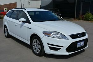 2012 Ford Mondeo MC LX Tdci White 6 Speed Direct Shift Wagon Welshpool Canning Area Preview
