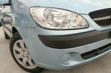 2009 Hyundai Getz TB MY09 S Blue 5 Speed Manual Hatchback Pennant Hills Hornsby Area Preview