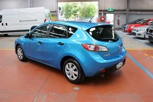 2011 Mazda 3 BL10F2 Neo Blue 6 Speed Manual Hatchback Maryville Newcastle Area Preview