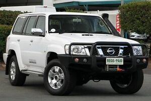 2015 Nissan Patrol Y61 GU 9 ST Polar White 5 Speed Manual Wagon Acacia Ridge Brisbane South West Preview