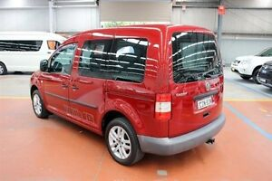 2006 Volkswagen Caddy 2KN SWB Red 5 Speed Manual Van Maryville Newcastle Area Preview