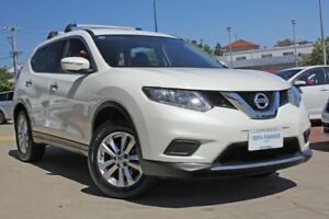 2016 Nissan X-Trail T32 ST (FWD) White Continuous Variable Wagon Victoria Park Victoria Park Area Preview
