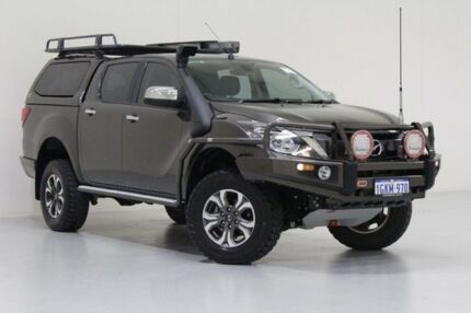 2016 Mazda BT-50 MY16 XTR (4x4) Grey 6 Speed Automatic Dual Cab Utility Bentley Canning Area Preview