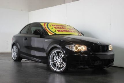 2010 BMW 135I E82 MY09 Sport Black 6 Speed Automatic Coupe
