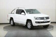 2013 Volkswagen Amarok 2H MY13 TDI420 Highline (4x4) White 8 Speed Automatic Dual Cab Utility Smithfield Parramatta Area Preview