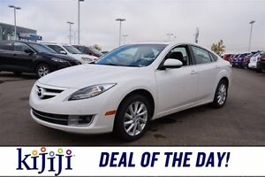 2013 Mazda Mazda6 GSL Accident Free,  Leather,  Sunroof,  Heated