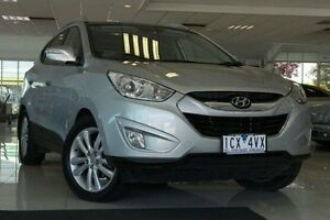 2010 Hyundai ix35 LM Highlander AWD Silver 6 Speed Sports Automatic Wagon Dandenong Greater Dandenong Preview