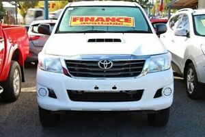 2014 Toyota Hilux KUN26R MY14 SR Double Cab White 5 Speed Automatic Utility Berwick Casey Area Preview