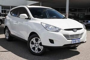 2012 Hyundai ix35 LM MY11 Active White 6 Speed Sports Automatic Wagon Osborne Park Stirling Area Preview