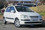 2004 Hyundai Getz TB MY04 GL White 5 Speed Manual Hatchback Glenelg Holdfast Bay Preview
