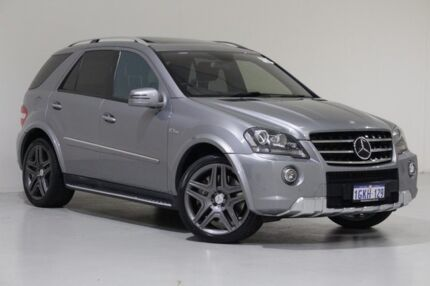 2011 Mercedes-Benz ML 164 MY11 63 AMG (4x4) Silver 7 Speed Automatic G-Tronic Wagon