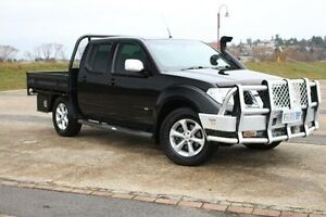 2011 Nissan Navara D40 MY11 ST-X 550 Black 7 Speed Sports Automatic Utility Invermay Launceston Area Preview